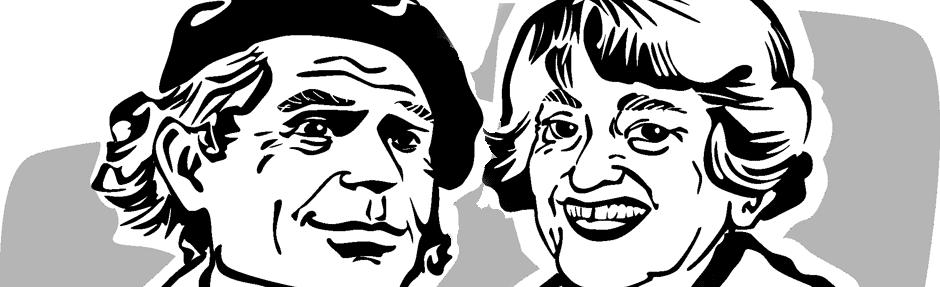Peter und Ettie Gingold